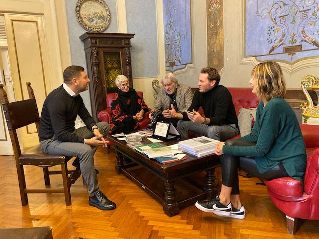 incontro giornalisti olandesi