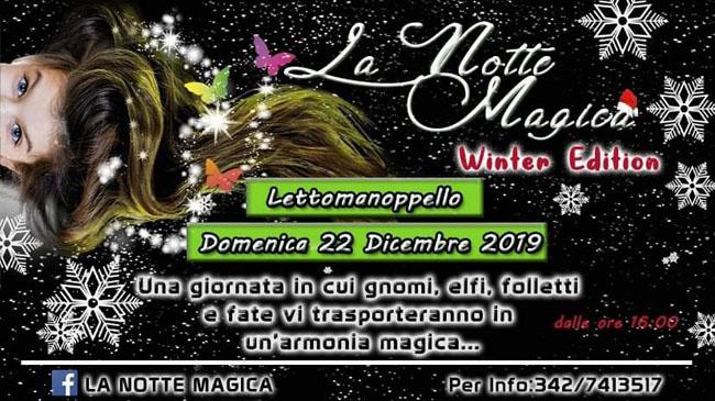 la notte magica winter edition lettomanoppello 2019