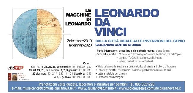 Giulianova, al via Leonardo. Saperi, architettura e guerra tra Quattro e Cinquecento