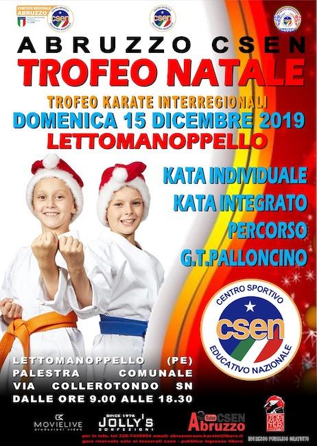 trofeo natale karate lettomanoppello 2019
