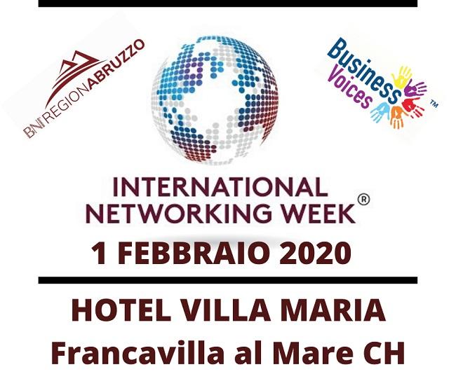 """Francavilla al mare, tutto pronto per la """"International Networking Week"""" di BNI"""