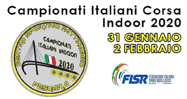 campionato pattinaggio indoor Pescara 2020