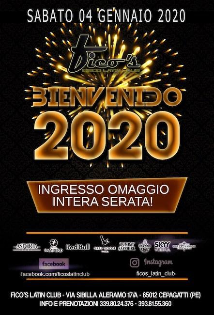 fico's latin club 4 gennaio 2020