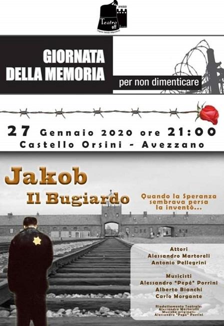 Avezzano, al Castello Orsini Colonna va in scena Jakob il bugiardo