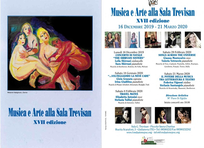 Giulianova, tutto pronto per il secondo appuntamento della XVII Edizione di Musica e Arte