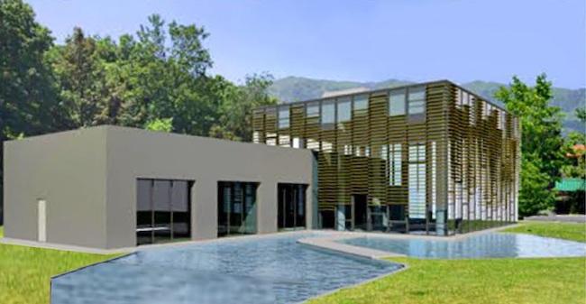 progetto piscine termali Caramanico