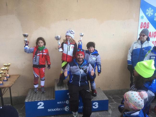 vincitori gara sci