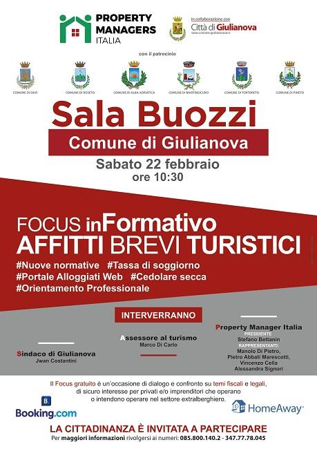 Giulianova: focus informativo sugli affitti brevi turistici