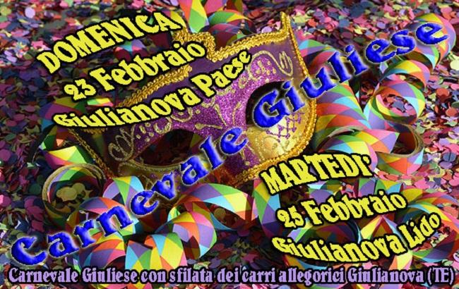 Giulianova, in arrivo il Carnevale 2020: l'appello del comitato organizzatore