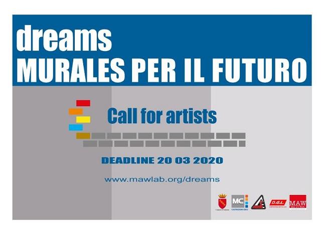Sulmona, Dreams Murales per il futuro: chiamata degli artisti
