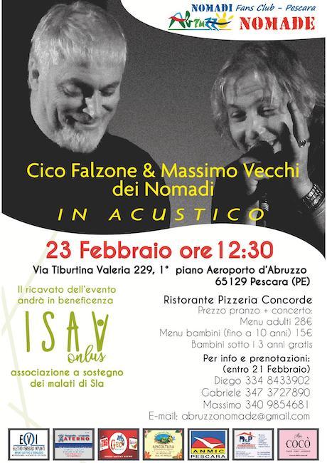 Giornata di musica e solidarietà per i malati di SLA a Pescara