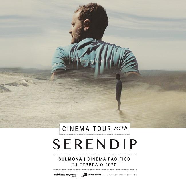 Sulmona, il ritorno al cinema del docufilm Serendip