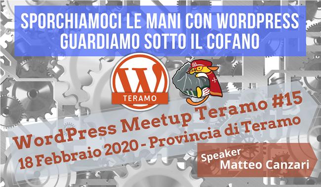 L'appuntamento di febbraio del WordPress Meetup Teramo