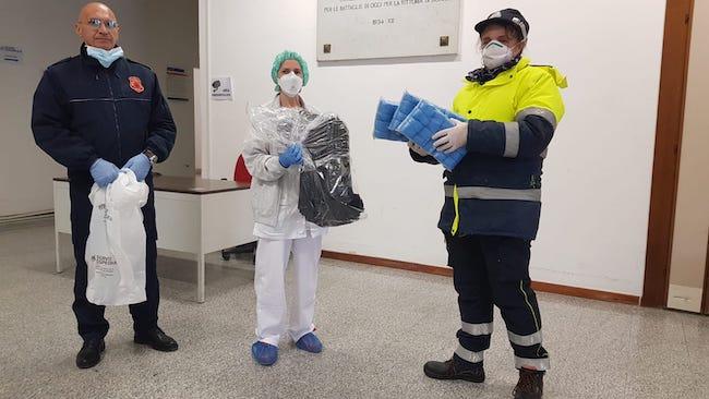 donazione ospedale mazzini calzari