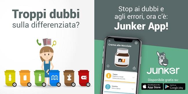 San Salvo: benvenuta Junker, la app della raccolta differenziata