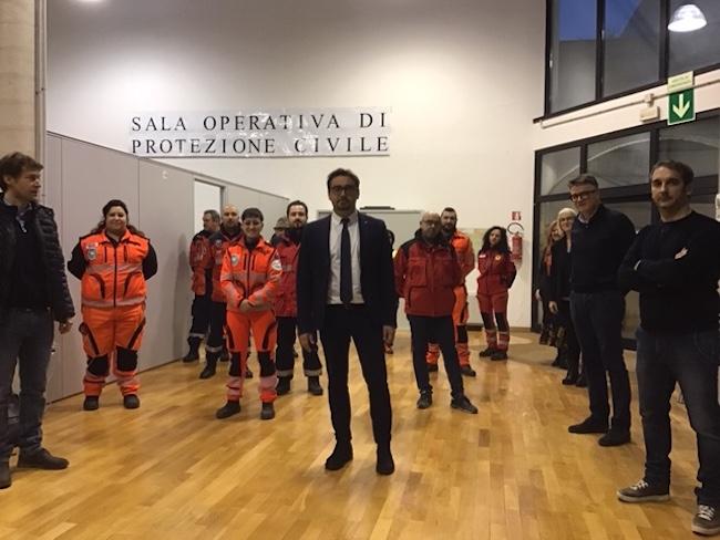 sala operativa protezione civile teramo