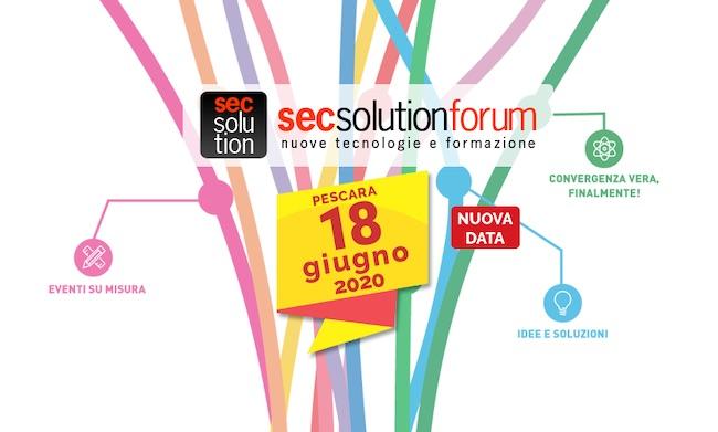 secsolutionforum 2020
