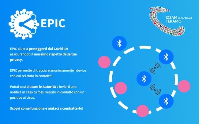 app epic covid19 izsam