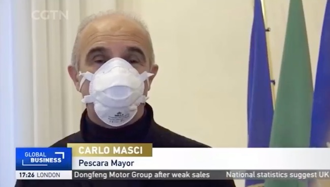 carlo masci mascherina