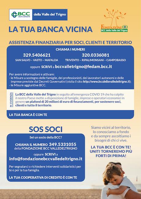 donazione bcc valle del trigno