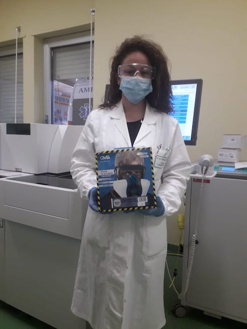 mascherine pronto soccorso laboratorio analisi ospedale giulianova