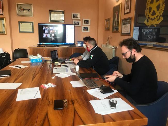 riunione gestori palestre montesilvano