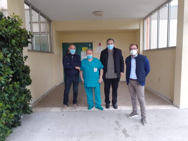 visita ospedale sindaco costantini