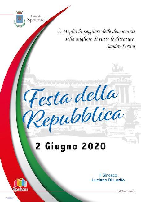 festa repubblica spoltore 2020
