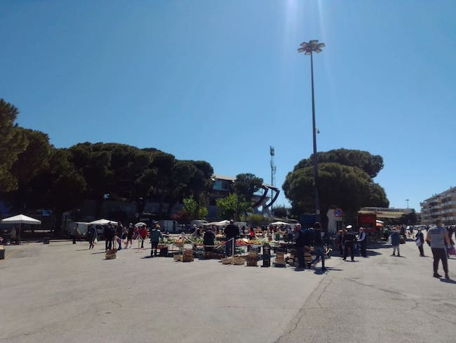 mercato via pepe pescara