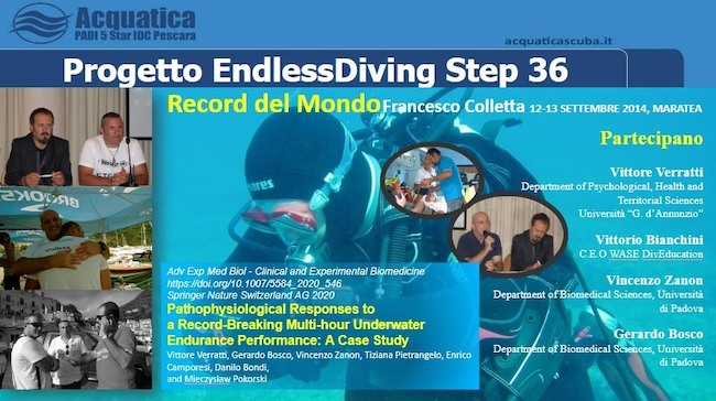 progetto endlessdiving step 36