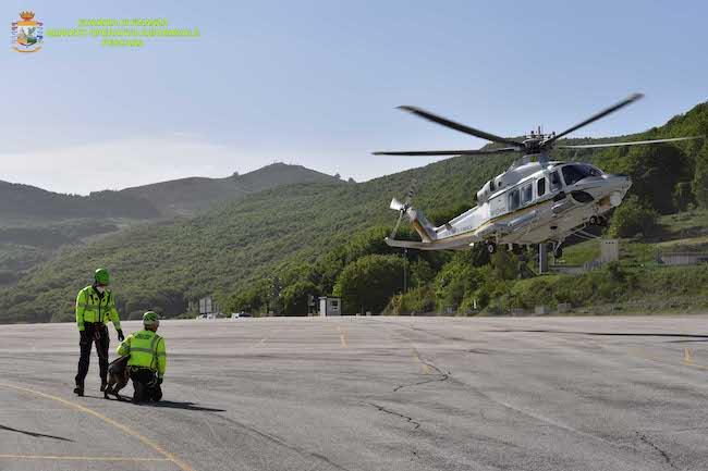Roccaraso, esercitazione del Soccorso Alpino Guardia di Finanza [VIDEO]
