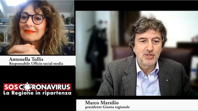 screen shot marsilio tollis