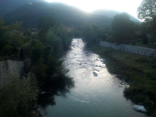 fiume liri canistro
