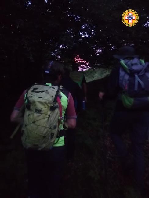 recupero escursionisti