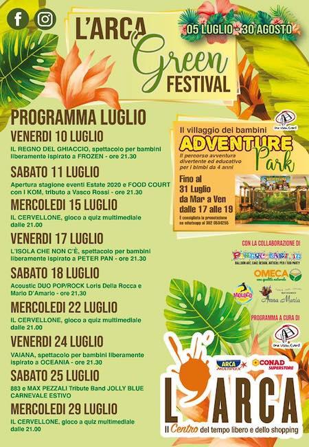 arca green festival 2020