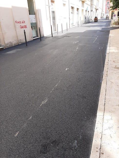 asfalto via campana