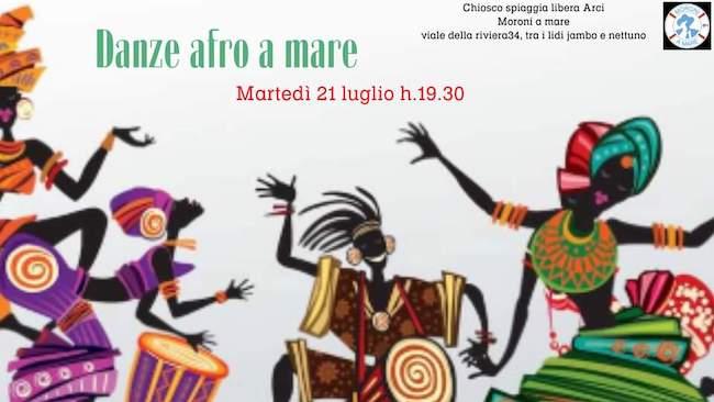 danze afro a mare 21 luglio 2020