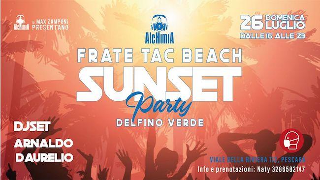 sunset party 26 luglio 2020