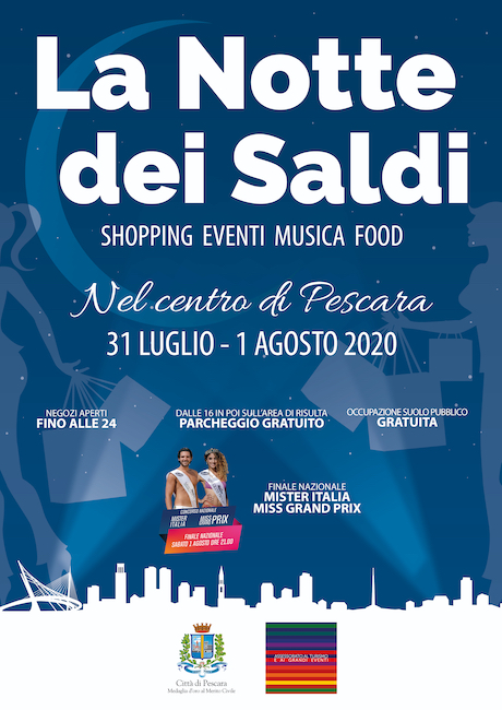 notte dei saldi 2020 Pescara