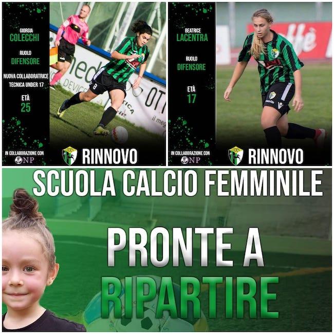 scuola calcio chieti calcio femminile