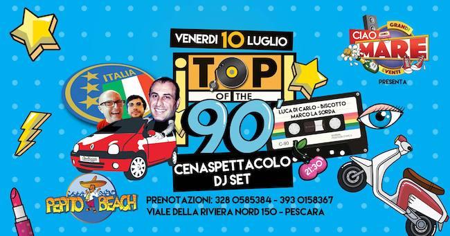 top of 90 10 luglio 2020