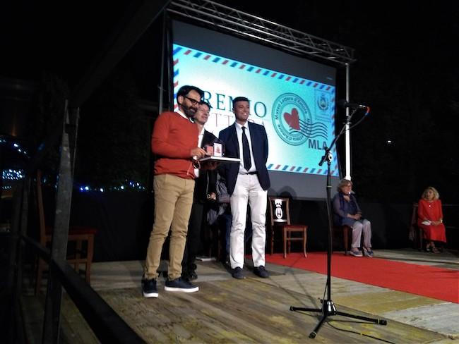 van Aloisio, con Massimo Pamio e il sindaco Seccia