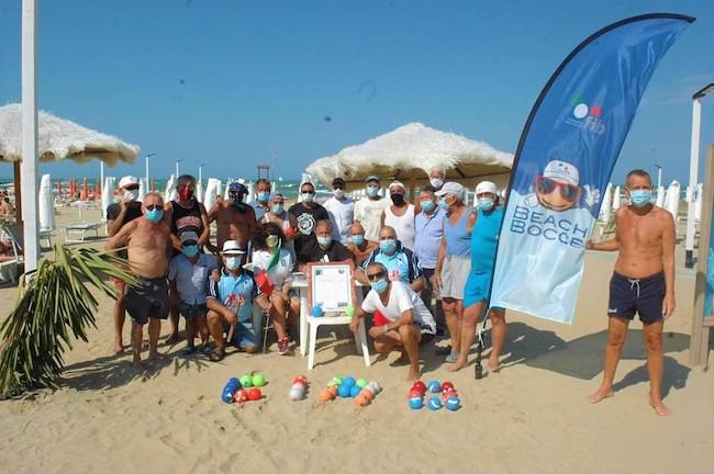 beach bocce san salvo gruppo