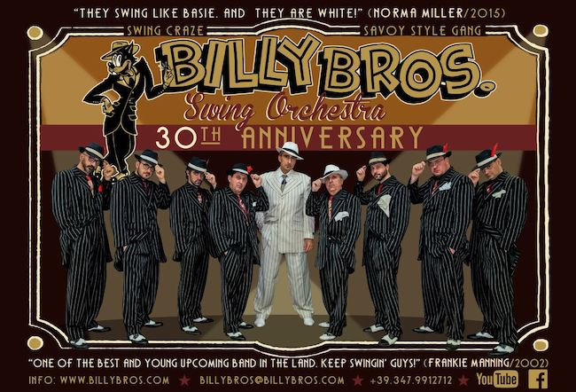 billy bross orchestra 30 anniversario