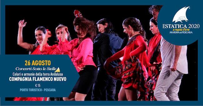 compagnia flamenco nuevo 26 agosto 2020