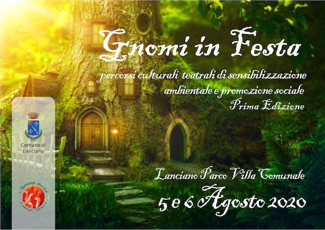 gnomi in festa 5-6 agosto 2020