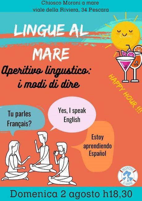 lingue al mare 2 agosto 2020