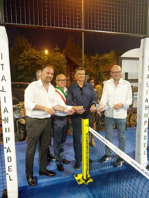 Circolo Tennis di Tortoreto, Liris inaugurazione del campo Padel