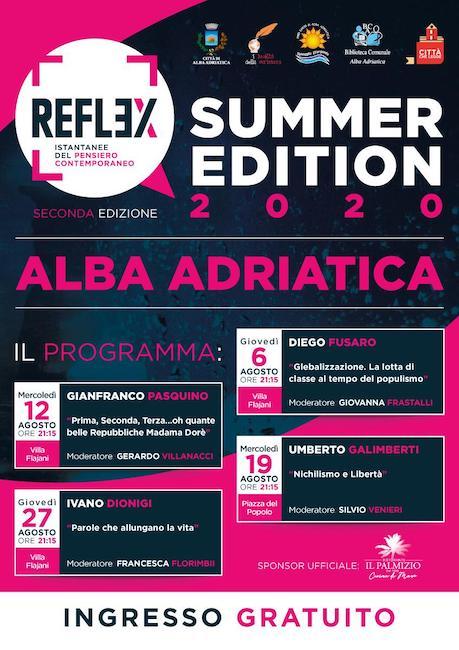 locandina reflex 2020