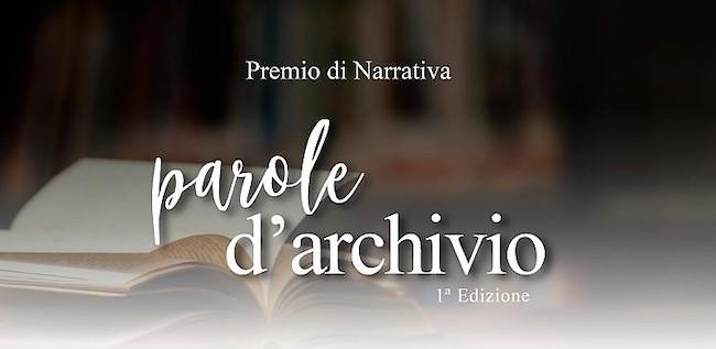 logo concorso letterario parole d'archivio